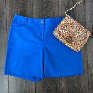 NWOT Blue Curvy Fit Shorts